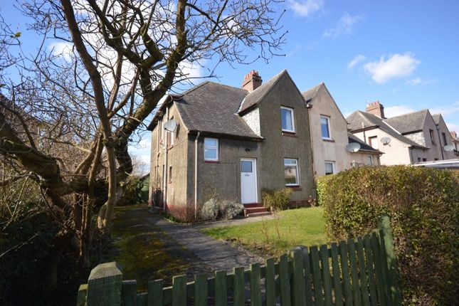 Thumbnail Semi-detached house for sale in Leslie Road, Rosyth, Dunfermline
