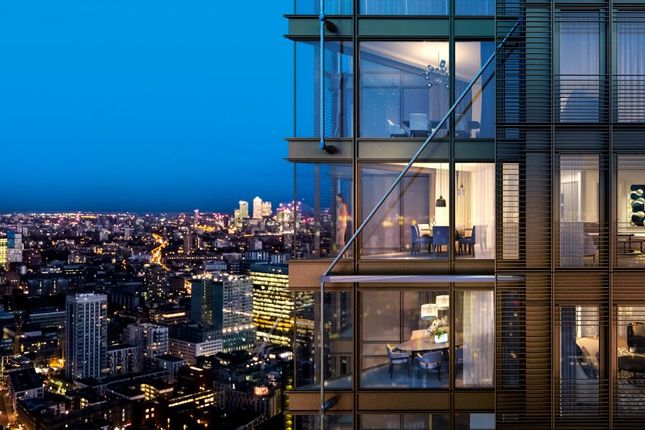 Thumbnail 1 bed flat for sale in One Bishopsgate Plaza, City Of London