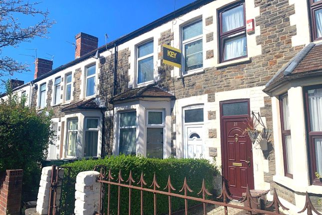 Thumbnail Terraced house for sale in Richard Street, Cathays, Cardiff