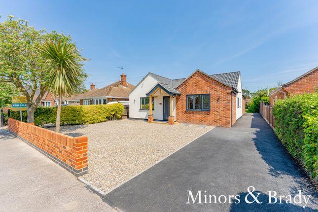 Thumbnail Detached bungalow for sale in Gunton Drive, Lowestoft