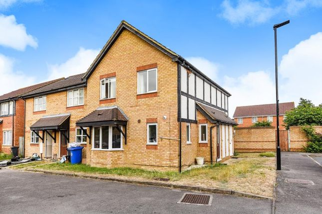 Thumbnail Terraced house to rent in Churchill Close, Feltham