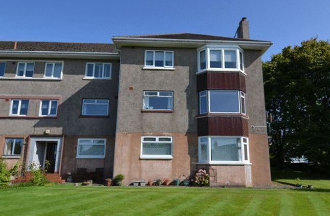 Thumbnail Flat for sale in Overton Crescent, West Kilbride