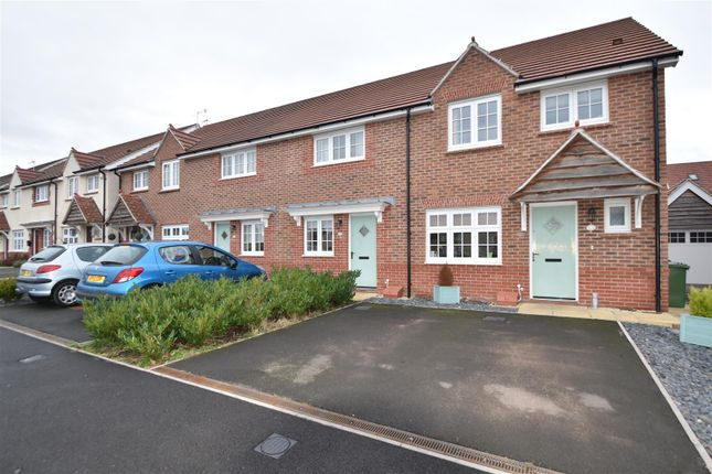 Thumbnail End terrace house for sale in Hurdman Road, Worcester