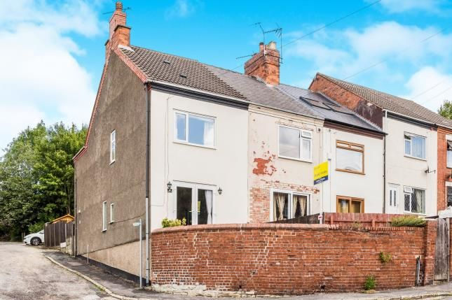 Thumbnail End terrace house for sale in Bolsover Hill, Bolsover, Chesterfield, Derbyshire