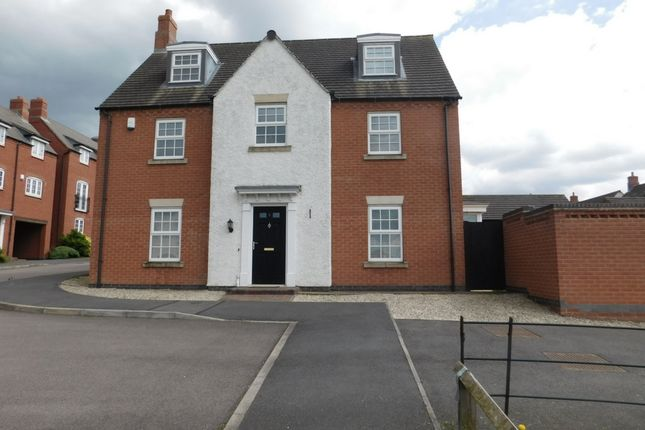 Thumbnail Detached house for sale in Portsmouth Close, Church Gresley