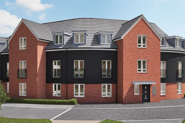 """Thumbnail Flat for sale in """"St Aubyn's Court Apartments - Ground Floor 1 Bed"""" at London Road, Sayers Common, Hassocks"""
