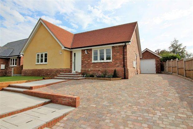Thumbnail Detached bungalow for sale in Walton Road, Kirby Le Soken, Frinton On Sea