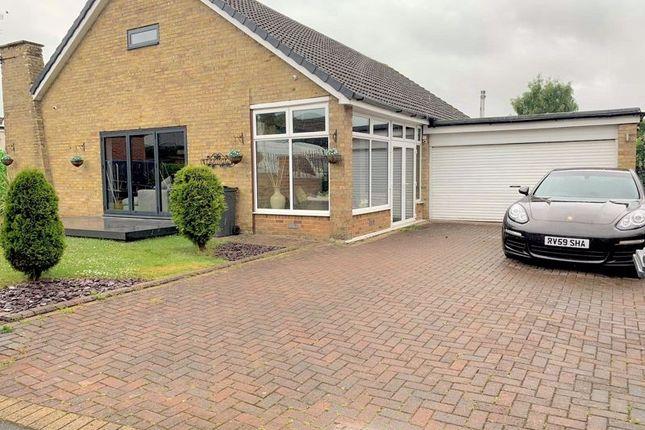 Thumbnail Detached bungalow for sale in Hartlea Avenue, Darlington