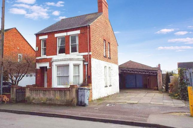 Thumbnail Detached house for sale in Newton Road, Wollaston, Northamptonshire