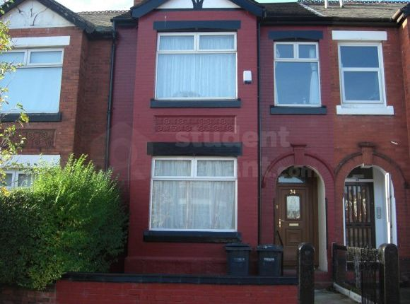 Thumbnail Terraced house to rent in Scarsdale Road, Manchester, Greater Manchester