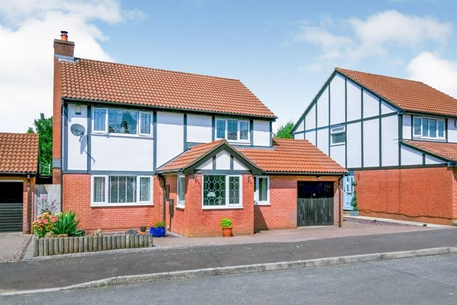 Thumbnail Detached house for sale in Deepdene Close, St Fagans, Cardiff