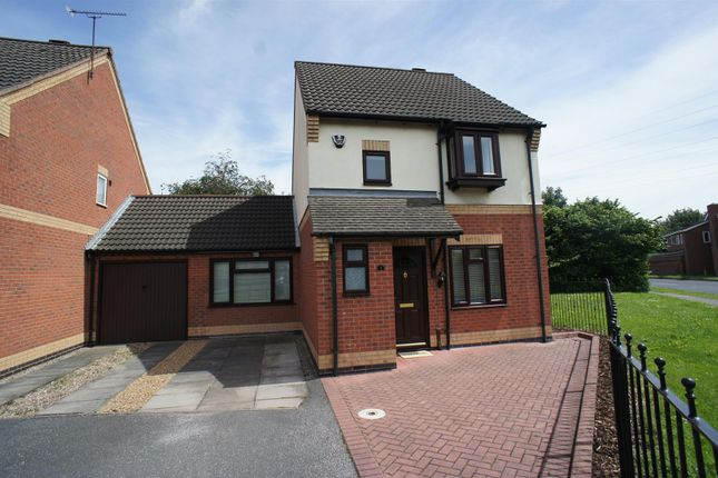 Thumbnail Detached house to rent in Cairngorm Drive, Sinfin, Derby