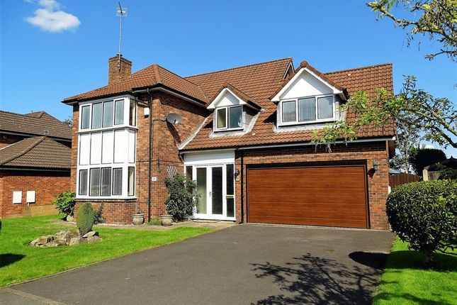 Thumbnail Detached house for sale in Castle Walk, Penwortham, Preston