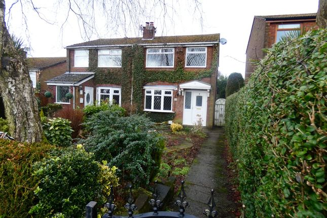 Thumbnail Semi-detached house to rent in Lyne Edge Crescent, Dukinfield