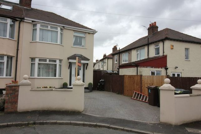 Thumbnail Semi-detached house for sale in Kinley Gardens, Bootle