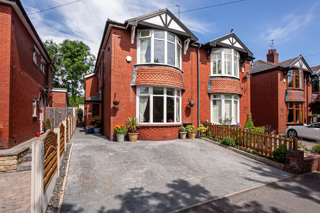 Thumbnail Semi-detached house for sale in 8 Heights Lane, Chadderton
