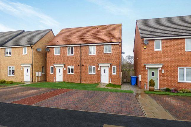 Thumbnail Semi-detached house for sale in Alexandra Chase, Cramlington