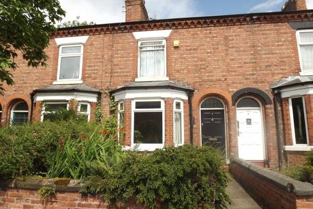 Thumbnail Terraced house to rent in The Crescent, Northwich