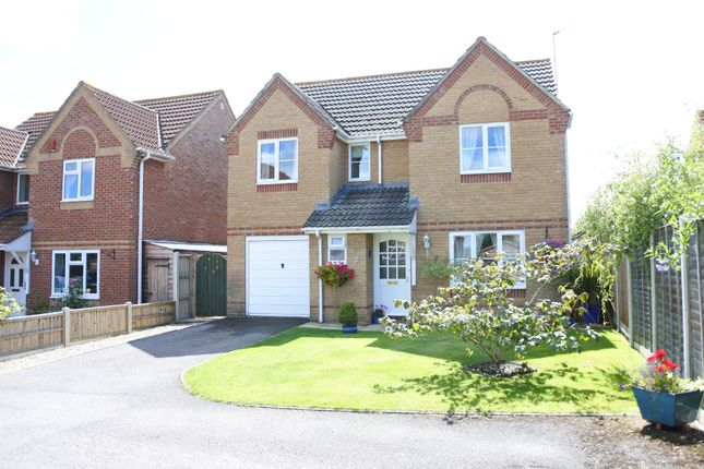 Thumbnail Detached house for sale in Cherryfields, Gillingham