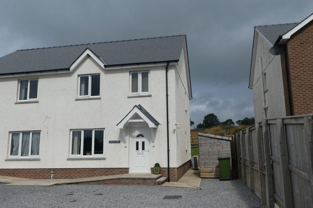 Thumbnail Semi-detached house for sale in Ffostrasol, Llandysul