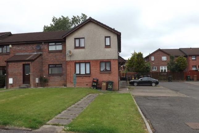 Thumbnail End terrace house to rent in Dungavel Road, Kilmarnock