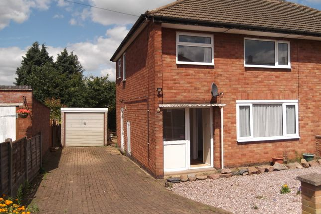 Thumbnail Semi-detached house to rent in Springdale Road, Thurmaston, Leicester