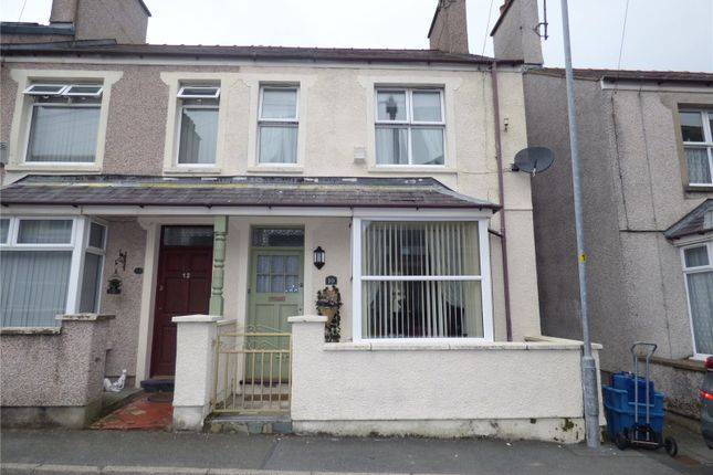 Thumbnail End terrace house for sale in Ucheldre Avenue, Holyhead, Sir Ynys Mon