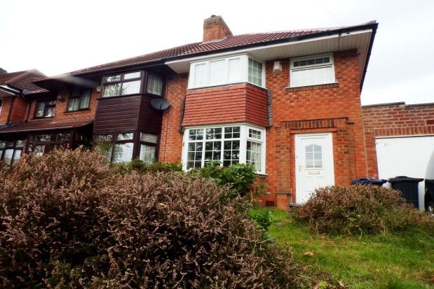 Semi-detached house in  Haunch Lane  Kings Heath  Birmingham  Birmingham