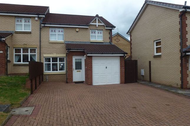 Thumbnail Semi-detached house for sale in Claremount View, Coatbridge