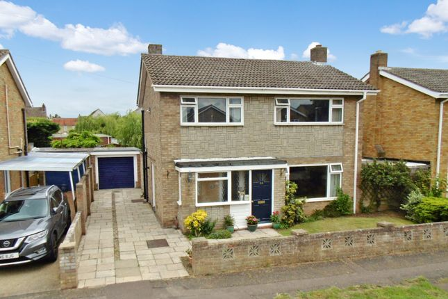 Thumbnail Detached house for sale in Western Way, Sandy