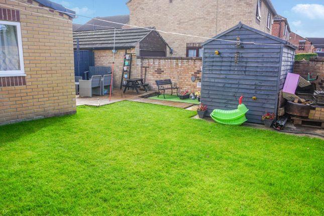 Rear Garden of Pasture Way, Sherburn In Elmet, Leeds LS25