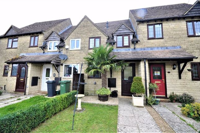 Thumbnail Terraced house for sale in Dorington Court, Bussage, Stroud