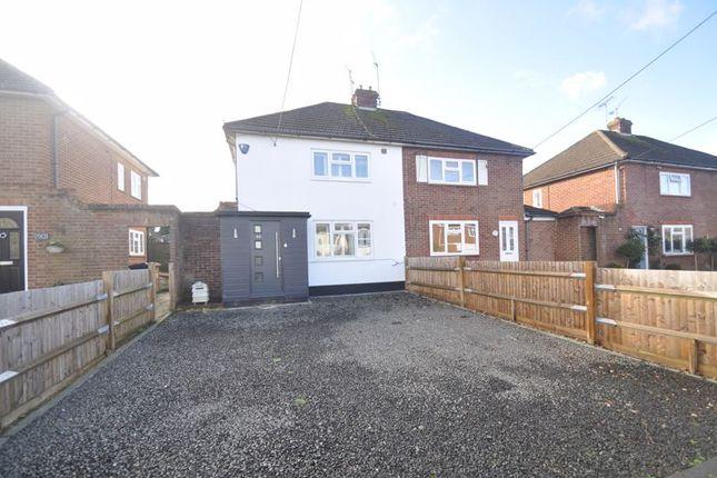 Semi-detached house for sale in Lower Weybourne Lane, Badshot Lea, Farnham