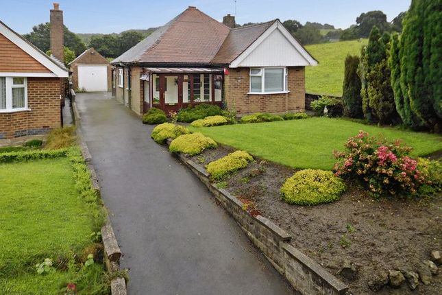 Thumbnail Detached bungalow for sale in Heathcote Road, Bignall End, Stoke-On-Trent