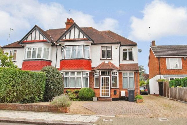 Thumbnail Semi-detached house to rent in Barrow Point Avenue, Pinner, Middlesex
