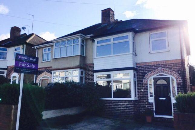 Thumbnail Semi-detached house for sale in Lindridge Road, Birmingham