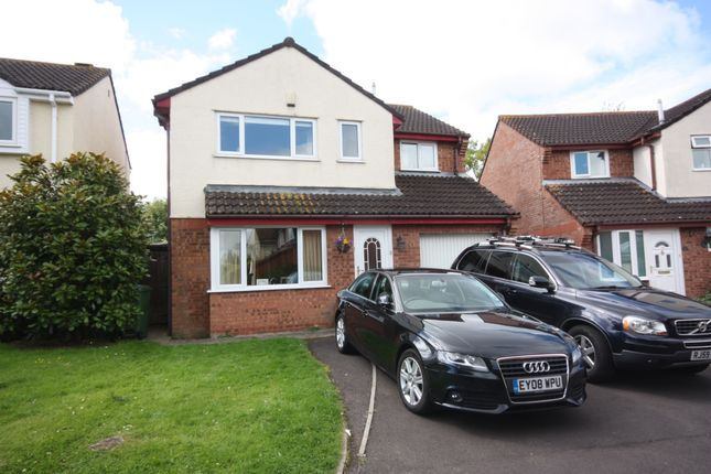 Thumbnail Detached house to rent in Barrington Close, Taunton