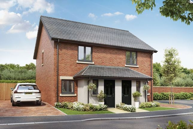 Thumbnail Semi-detached house for sale in Plot 21, The York @ Hazel Green, Bowerham Road, Lancaster