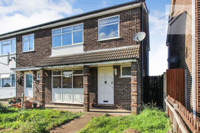 Thumbnail Semi-detached house to rent in St. Georges Walk, Canvey Island