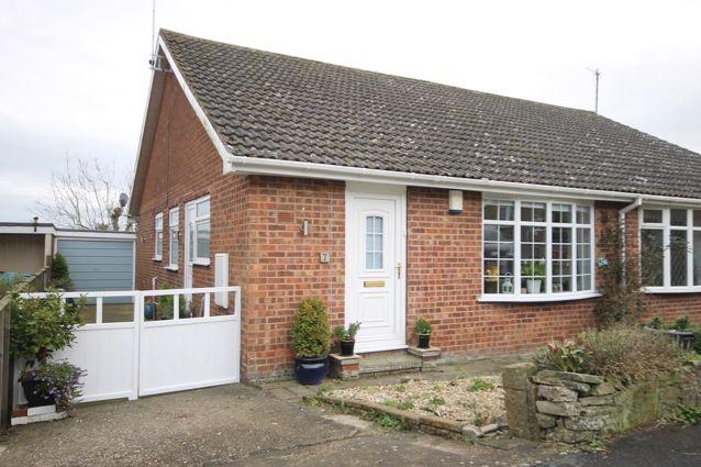 Thumbnail Semi-detached bungalow for sale in Park Rise, Hunmanby, Filey