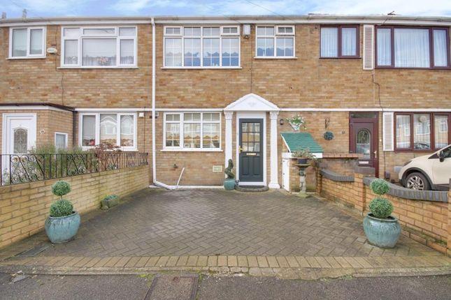 Thumbnail Terraced house to rent in Whybridge Close, Rainham, Essex