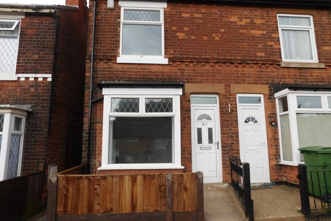 2 bed end terrace house to rent in Sadler Street, Mansfield, Nottinghamshire NG19