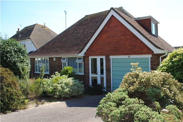 Thumbnail Detached bungalow for sale in Grenada Close, Bexhill-On-Sea, East Sussex