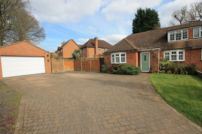Thumbnail Semi-detached bungalow for sale in Milden Gardens, Frimley Green, Camberley