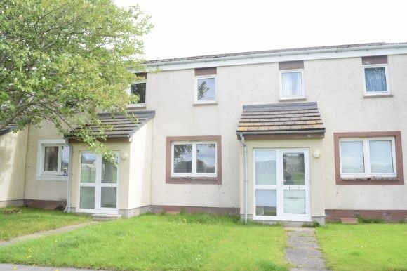 Thumbnail Terraced house to rent in Easter Road, Kinloss, Forres