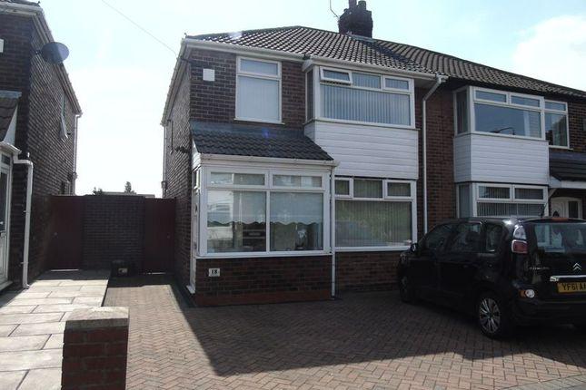 Thumbnail Semi-detached house to rent in Martin Close, Rainhill, Prescot