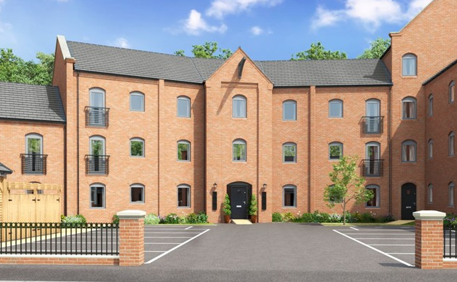Thumbnail Flat for sale in The Ealing, Argyle Close, Wordsley