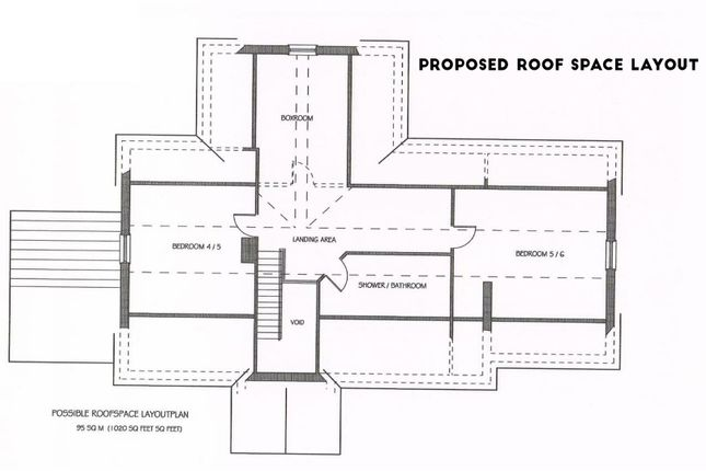 Site 1 Proposed Roof Space