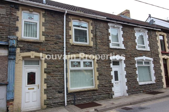 Thumbnail Terraced house for sale in Queens Road, Elliots Town, New Tredegar, Caerphilly.