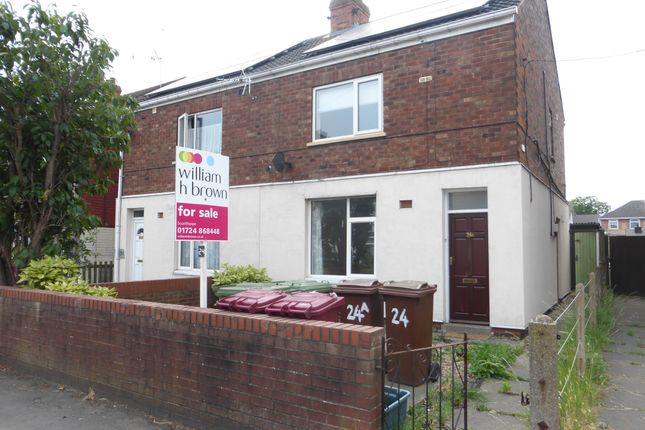 Thumbnail Semi-detached house for sale in North Parade, Scunthorpe